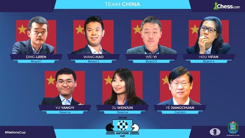 Chine remporte la Coupe des Nations en ligne