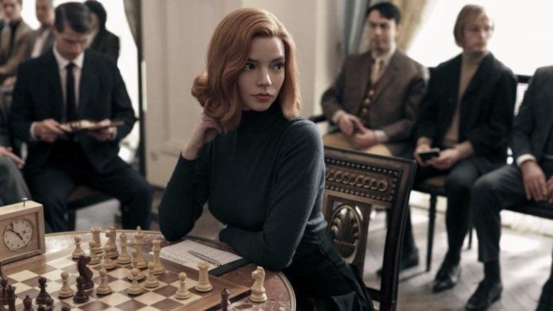 The Queen's Gambit mini série sur les échecs sur Netflixnetflix-01