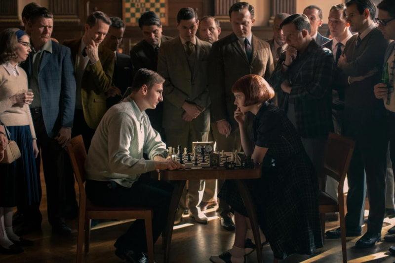 The Queen's Gambit mini série sur les échecs sur Netflix
