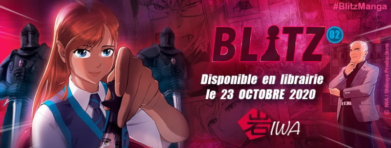 Blitz tome 2 disponible le 23 octobre 2020