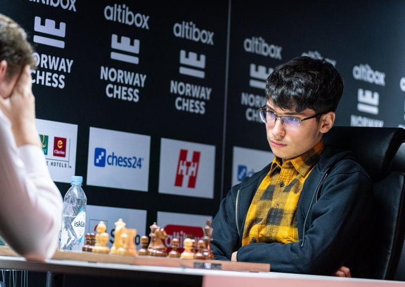 Duda - Firouzja Norway Chess 2020 Ronde 1