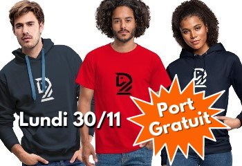 Produits personnalisés CapaKaspa Promo port gratuit