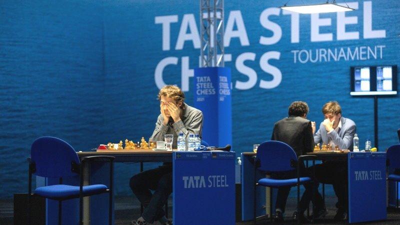 Tata Steel Chess 2021 ronde 1