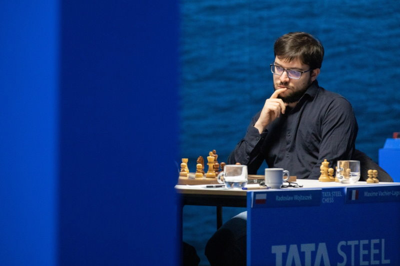 Tata Steel Chess 2021 ronde 11 Maxime Vachier-Lagrave