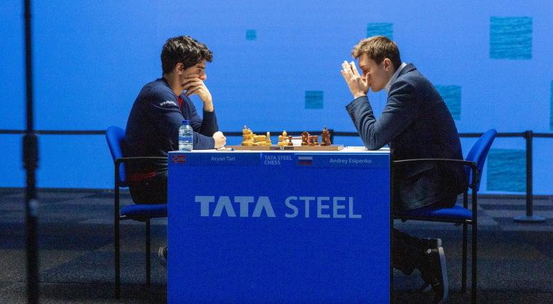 Tata Steel Chess 2021 ronde 11 Tari-Esipenko