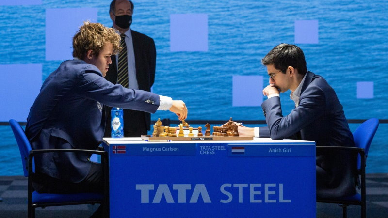 Tata Steel Chess 2021 ronde 11