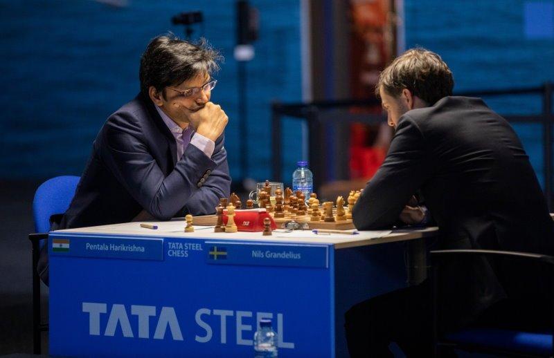 Tata Steel Chess Ronde Harikrishna - Grandelius