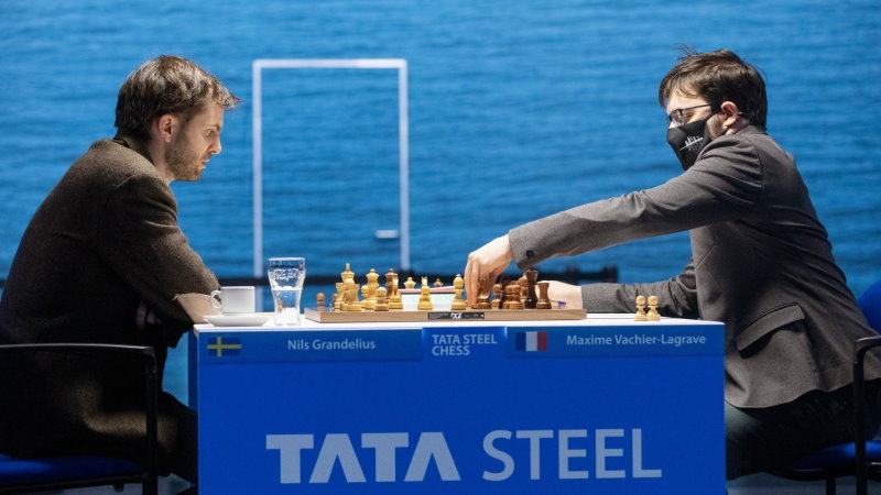 Tata Steel Chess 2021 ronde 5