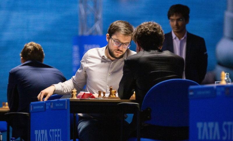 Tata Steel Chess 2021 Ronde 7 Caruana - Vachier-Lagrave