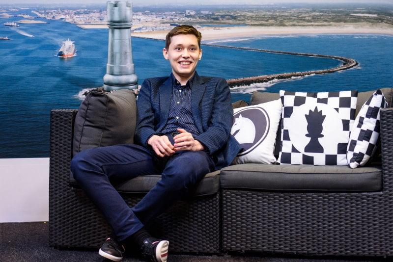 Tata Steel Chess 2021 Ronde 8 Andrey Esipenko