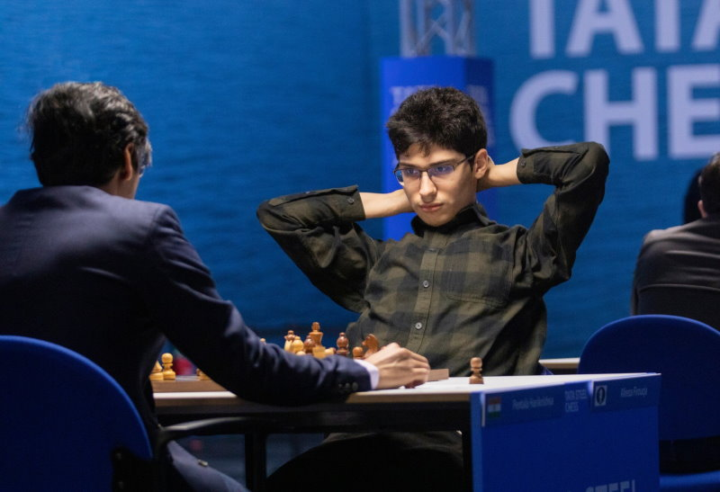 Tata Steel Chess 2021 Ronde 8 Harikrishna-Firoujza