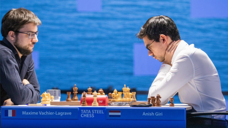 Tata Steel Chess 2021 ronde 9