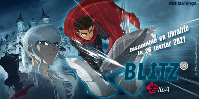 Manga Blitz tome 3