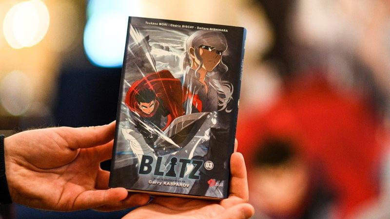 Manga Blitz échecs tome 3