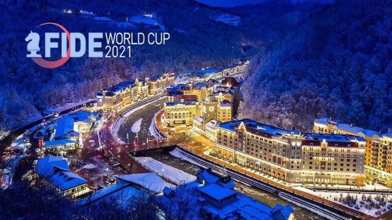 Coupe du Monde d'échecs FIDE 2021