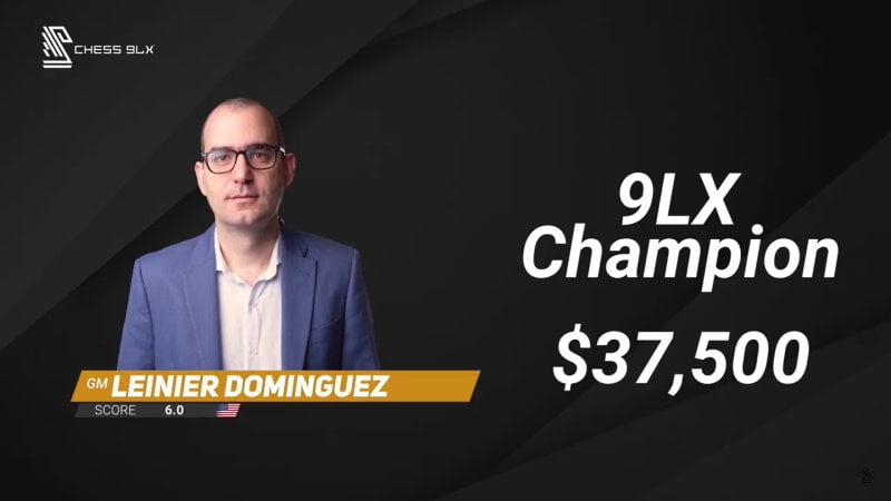 Champions Showdown 2021 Chess960 Leinier Dominguez