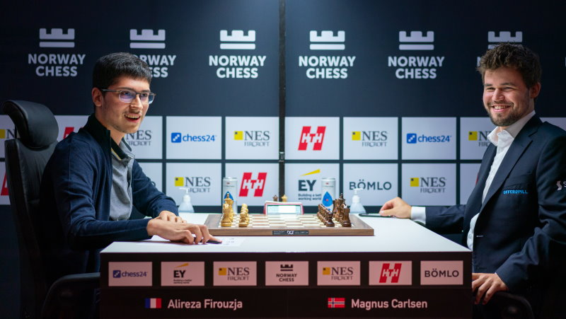 Norway Chess 2021 ronde 1