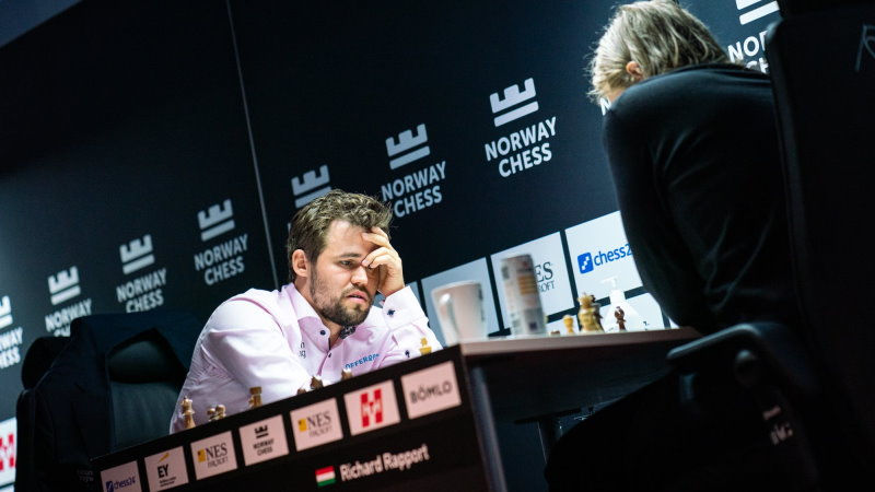 Norway Chess 2021 ronde 8